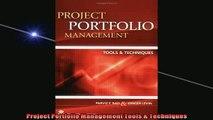 Read PDF] Project Portfolio Management Tools Techniques