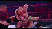 WWE Bragging Rights 2009 - John Cena vs Randy Orton - Full Match Part 1/2 (WWE Championship Iron Man Match)