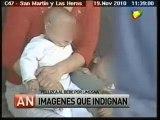 """HISTORIA DE LA TV ARGENTINA: """"PELLIZCA AL BEBE POR LIMOSNA"""" /AN/ 27 DE OCTUBRE 2011"""