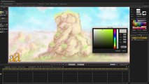 Anime Studio Pro 11:  Creating a Painted Environment (Part 2)