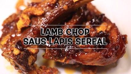 Lamb Chop Sauce Lapis Sereal
