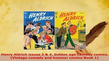 PDF  Henry Aldrich issues 3  4 Golden age Comedy comics Vintage comedy and humour comics PDF Book Free