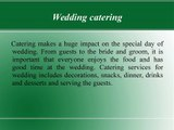 4 Most Important General Types of Catering - Rhona Silver