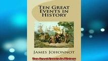 Downlaod Full PDF Free  Ten Great Events in History Online Free