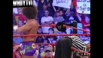 WWE RAW (Monday 1st August 2005) - John Cena vs Carlito (Chris Jericho as Ref) (WWE Championship)