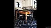 Плитка на пол на кухне: 45 вариантов
