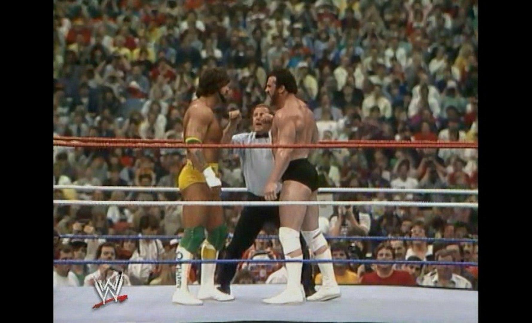 WWE WrestleMania 3 - Billy Jack Haynes vs. Hercules