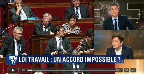 INCROYABLE...En plein débat sur BFM, le présentateur reçoit un SMS du cabinet de Manuel Valls !