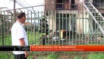 Tragedia - Incendio afectó a departamentos en San Pedro del Río