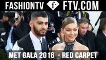 Met Gala Red Carpet 2016 pt. 1 ft. Gigi Hadid & Karlie Kloss | FTV.com