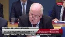 Éric Bocquet rappelle à Frédéric Oudéa la raison de sa présence devant la commission des finances