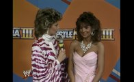 WWE WrestleMania 3 - Backstage With Mary Hart, Miss Elizabeth & Randy Savage