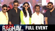 Raman Raghav 2.0 Movie Full Event-Trailer Launch | Nawazuddin Siddiqui,Anurag Kashyap,Vicky Kaushal