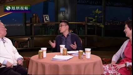 20160421 锵锵三人行 美国作家调侃中餐种类太多 王蒙:美国土鳖