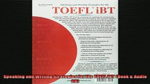There Is Speaking And Writing Strategies For The Toefl Ibt