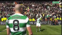Celtic FC - Front flips, back flips, one roly-poly and some dancing!