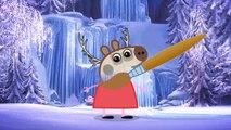 Peppa Pig en Español   Disney Frozen change Peppa Pig & More Characters Kinder Surprise Eggs