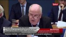 Audition de Frédéric Oudéa : Les questions offensives d'Éric Bocquet (PCF)