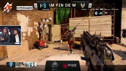 ESWC 2016 COD - Group D Vitality vs Hypergames Game 1 (FR)