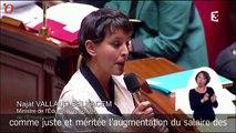 Najat Vallad-Belkacem provoque un incident de séance à l'Assemblée