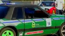 American Muscle can drift too! 1993 Fox Body 5.0 Mustang drifting