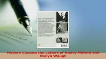 Download  Modern Classics the Letters of Nancy Mitford and Evelyn Waugh  Read Online