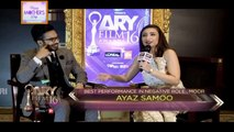 Ayaz Samoo Best Performance in Negative Role Male ,Moor - Winners Box - ARY Films Awards