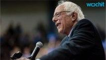 Bernie Sanders Speaks to Crowd Following West Virginia Primary Victory