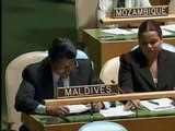 Maldives Statement to General Assembly - June 3, 2009