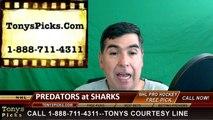 San Jose Sharks vs. Nashville Predators Free Pick Prediction NHL Playoffs Game 7 Odds Preview