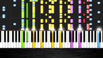 Pharrell Williams - Happy - IMPOSSIBLE REMIX by PlutaX - Piano - Synthesia