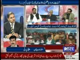 PML-N Malik Shakeel Awan and PTI Iftikhar Chaudhry Abusing Each Other in Live Show