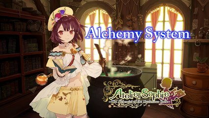 Synthesis Gameplay  de Atelier Sophie : The Alchemist of the Mysterious Book