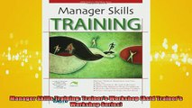 READ FREE Ebooks  Manager Skills Training Trainers Workshop Astd Trainers Workshop Series Full Free