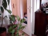 Cache-cache avec papa