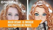 Julio Cesar : l'artiste qui croque vos photos de profil
