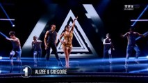 Alizée gregoire DALS 4 mix danses rythmées