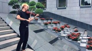 BTS Fire VIOLIN COVER 방탄소년단 불타오르