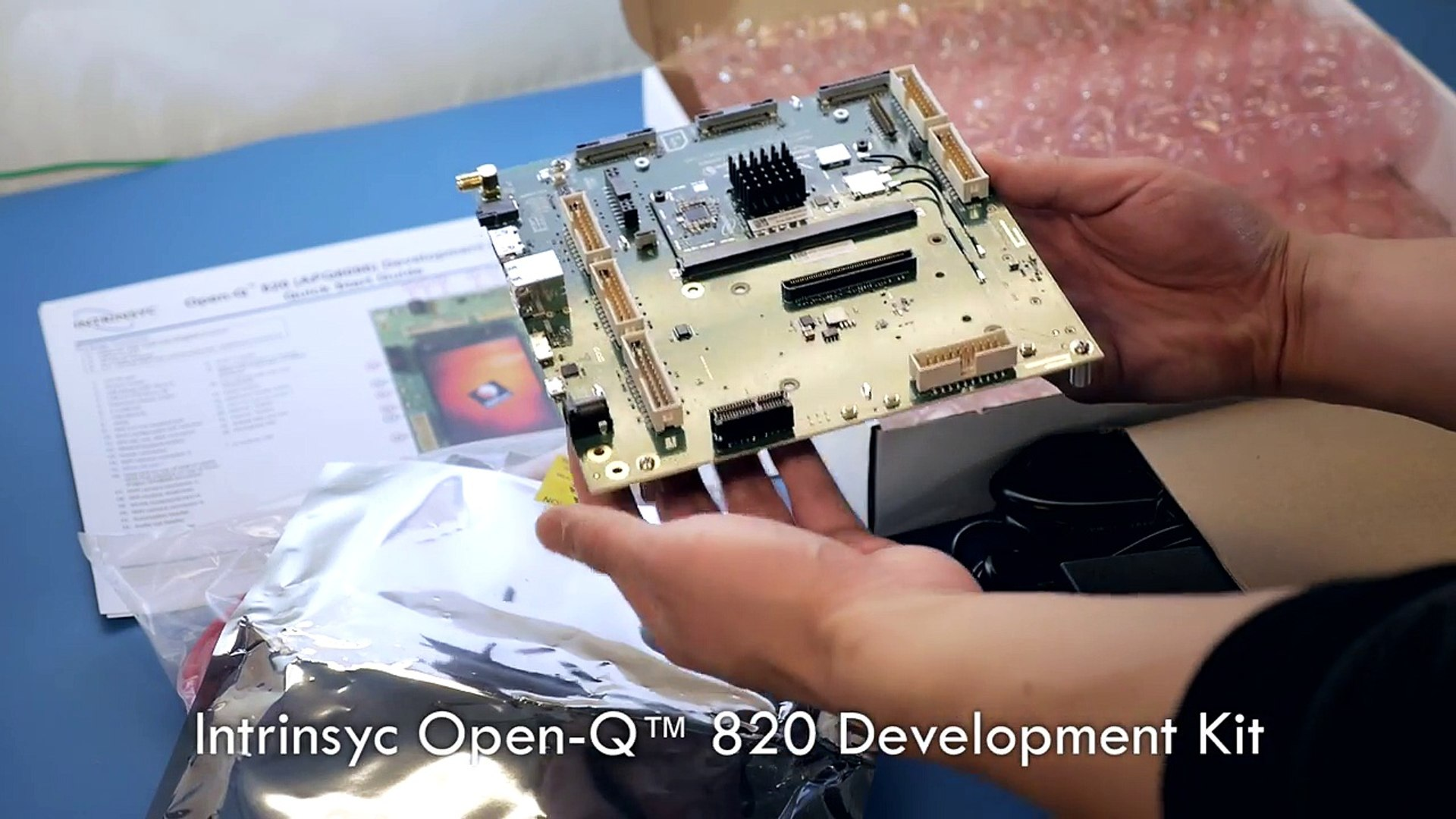 Intrinsyc Open-Q™  820 Development Kit Unboxing Video