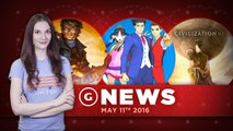 Civilization 6 Revealed & Microsoft Rejected Fable Buyout Offers? - GS Daily News