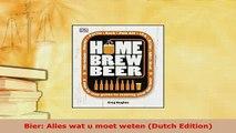 PDF  Bier Alles wat u moet weten Dutch Edition Ebook