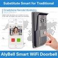 Alytimes New Wireless HD Megapixel P2P Wifi Camera doorbell, Onvif Wifi Doorbell Mobile Apps