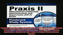READ book  Praxis II Educational Leadership Administration and Supervision 5411 Exam Flashcard Full Free