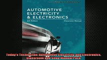 READ book  Todays Technician Automotive Electricity and Electronics Classroom and Shop Manual Pack Full Free