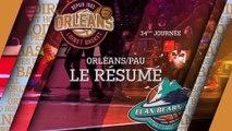 Résumé - J34 - Orléans reçoit Pau