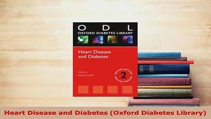 PDF  Heart Disease and Diabetes Oxford Diabetes Library  Read Online