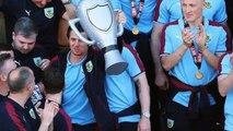Joey Barton - Burnley midfielder receives Championship winners' medal