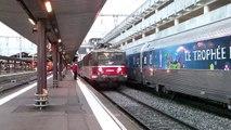 Manoeuvre du BB8606 avec une RRR TER Midi-Pyrénées à Toulouse-Matabiau