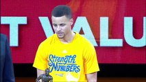 Stephen Curry MVP Ceremony