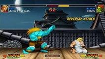 Super Street Fighter II Turbo HD Remix - XBLA - Armed 4 Death (Ken) VS. blitzfu (Blanka)
